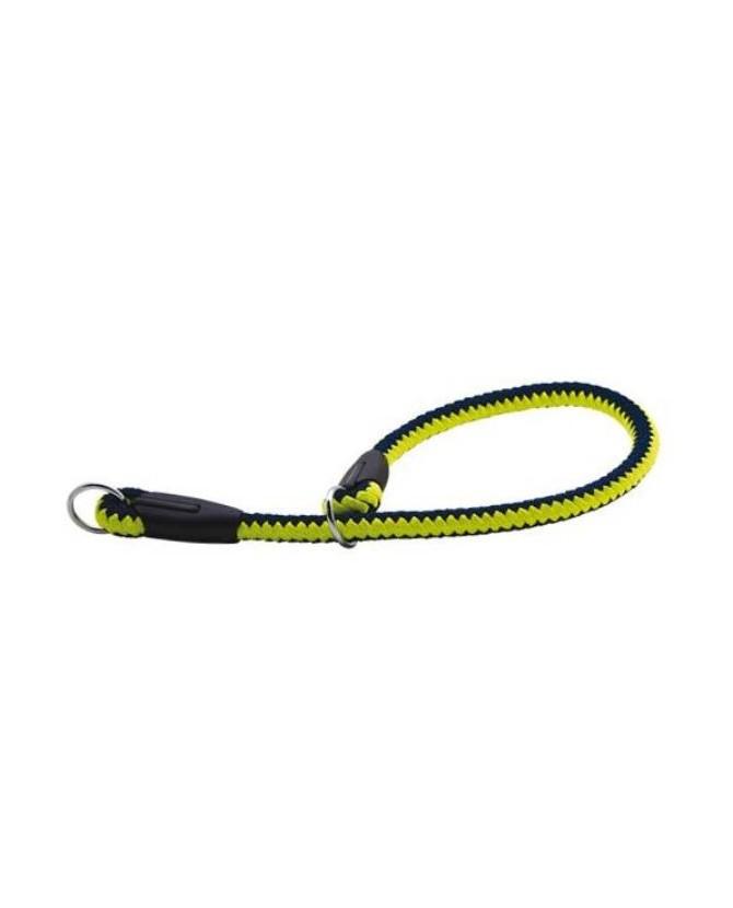 Colliers de Travail Collier lasso pour chien en corde fluo jaune 45 cm x 10 mm Doogy 5,50€