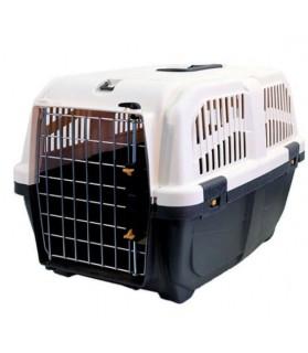 Caisses de transport pour chien Cage de transport pour chien et chat SKUDO - norme IATA grise Martin Sellier 27,00€