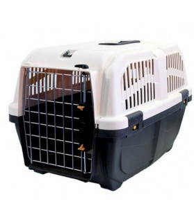Transport et sécurité Cage de transport pour chien et chat SKUDO - norme IATA grise Martin Sellier 27,00€