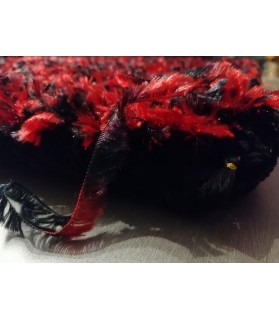 coussins pour chat Couchage chat - coussin chat rouge et noir Cardinal Chez Anilou 14,00€