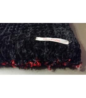 coussins pour chat couchage chat - Coussin chat moelleux noir et rouge Chez Anilou 17,00€
