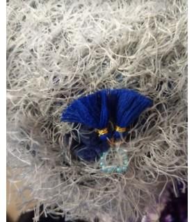 Coussins pour chien ou chiot couchage chien - coussin chien imperméable gris et bleu Chez Anilou 14,00€