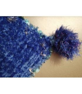 Coussins pour chien ou chiot couchage chien - coussin vert et bleu Os blanc  14,00€