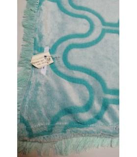 Tapis pour chien ou chiot Tapis chien arabesque vert d'eau Chez Anilou 12,00€