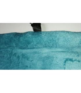Coussins pour chien ou chiot Coussin pour chien de voyage turquoise et noir 90x68 cm Chez Anilou 27,00€