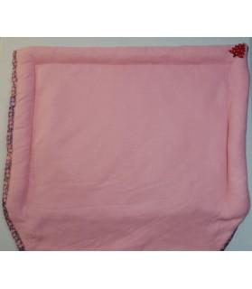 Coussins pour chien ou chiot couchage chien 3 boudins - rose - molletonné 62 *54 cm Chez Anilou 20,00€