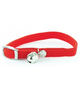Colliers chat Collier nylon chat élastique rouge - 1 x 30 cm Martin Sellier 8,00 €