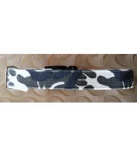 Colliers nylon Collier chien - réglable - blanc nuage de verdure Chez Anilou 17,00€
