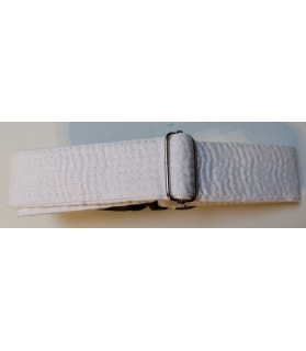 Colliers nylon Collier Chien réglable - blanc - Sankouka Chez Anilou 23,00€