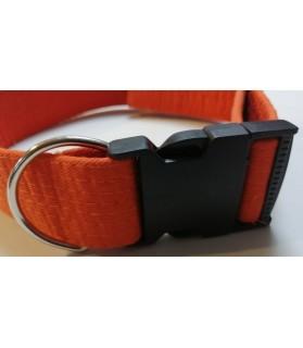 Colliers nylon Collier Chien réglable - orange - Sankouka Chez Anilou 23,00€