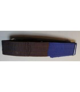 Colliers nylon Collier Chien réglable - bleu marron - Sankouka Chez Anilou 23,00€