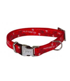 Collier chien réglable Envy Forever rouge