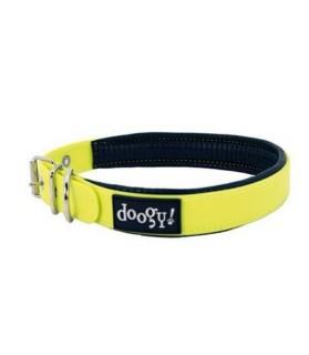 Collier chien fluo jaune...