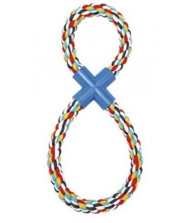 jouets noeuds pour chien jouet chien 8 multicouleurs Idealdog 9,00€