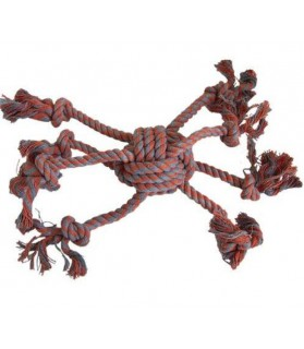 Jouets canins durs jouet corde poulpe Idealdog 8,00€