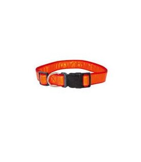 Colliers chien de chasse Collier chien orange Fluo Tangerine VIVOG 14,00€