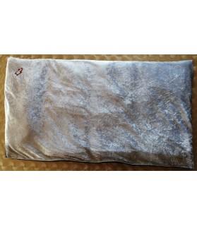 Coussins pour chien ou chiot coussin chien bleu ciel satin et imperméable 93 x 54 x 5 Chez Anilou 19,00€