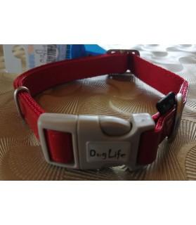 Colliers nylon Collier pour chien - Rock'n Roll 35 -55 cm - rouge verni VIVOG 11,00€