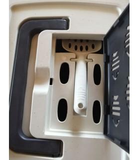 Litière pour chat Bac à litière fermé pour chat VIVOG 19,00€