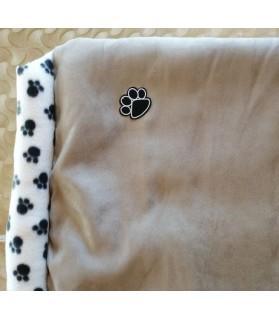 Coussins pour chien ou chiot coussin chien avec boudins Suedine Chez Anilou 38,00€