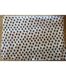 Coussins pour chien ou chiot coussin chien gris et motif pattes XL Chez Anilou 26,00€