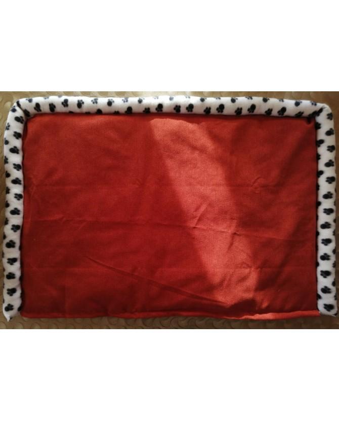 Coussins pour chien ou chiot coussin chien réversible orange Grand chien Chez Anilou 36,00€