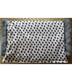 Coussins pour chien ou chiot coussin chien 2 boudins Pattes de chien Chez Anilou 32,00€