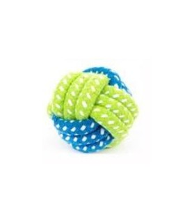 balles pour chien Jouet chien balle noeud bleu et verte  6,00€