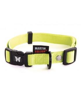 Colliers nylon collier réglable pour chien nylon jaune 30-45 cm Martin Sellier 9,20€