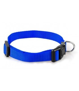 Colliers nylon Collier Nylon bleu foncé classique 31 - 45 cm  9,00€
