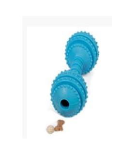 jouets canins friandises jouet chien - haltère friandise bleu VIVOG 12,00€
