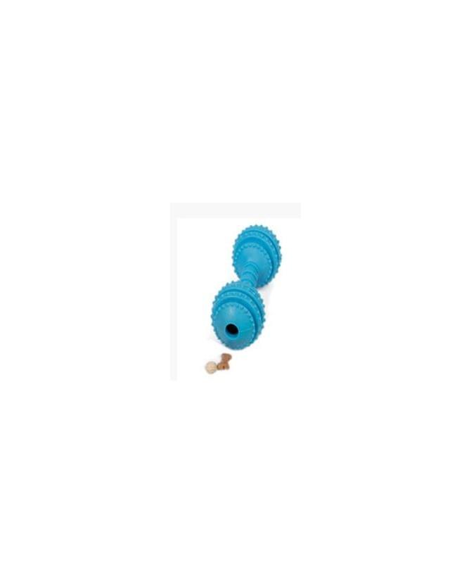 jouets canins friandises haltère friandise bleu VIVOG 12,00€
