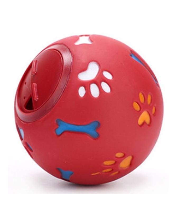 jouets d'éveil chien et chiot Balle rouge interactive friandises  7,00€