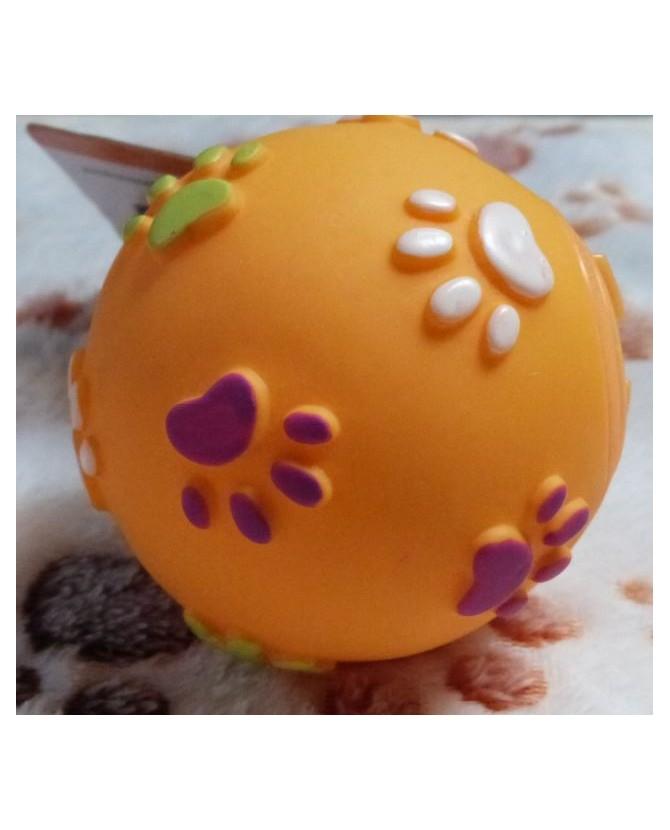 jouets d'éveil chien et chiot Balle orange interactive friandises  7,00€