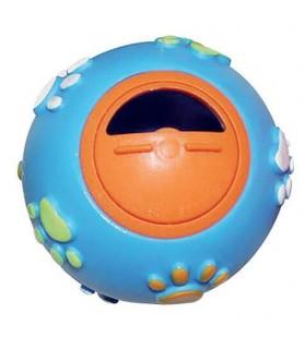 jouets d'éveil chien et chiot Balle bleu interactive friandises  7,00€