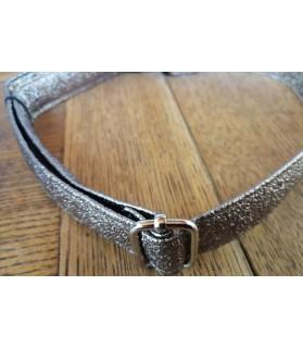 Colliers simili et cuir Collier chien Paillette de Star Bronze T39-67 Chez Anilou 9,00€