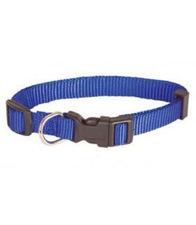 Colliers nylon Collier chien bleu foncé réglable T 1.5 x 30-48 cm Doggy & CO 6,00€