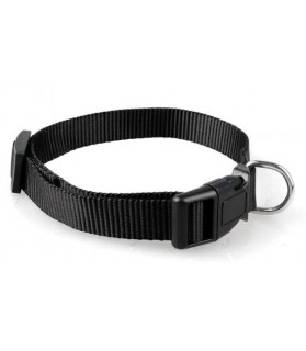 Colliers nylon Collier chien noir réglable T 1.5 x 30-48 cm Doggy & CO 6,00 €