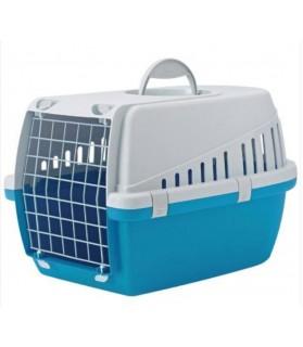 Accueil Cage de transport trotters bleue - taille : 70x50x51.5 cm  38,00€