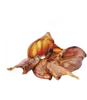 Spécial dentition Friandise dentaire chien Oreilles de porc - sachet de 10  24,00€