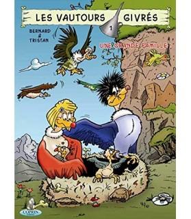 librairie animaux Les vautours givrés, Tome 1 : Une grande famille !  6,00€