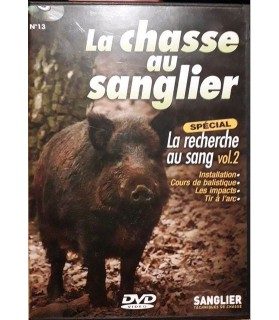 DVD La chasse au sanglier -...
