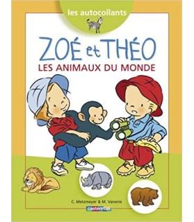 Librairie livre enfant - Zoé et Théo - Les animaux du monde  3,50€