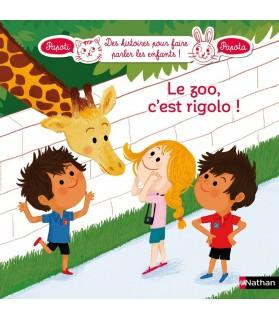 librairie animaux Le zoo, c'est rigolo ! Papoti Papota  5,50€