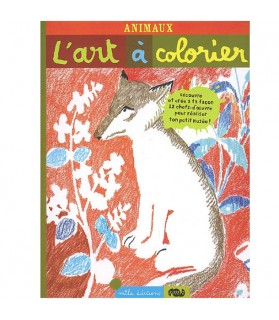 L'Art à colorier - Animaux