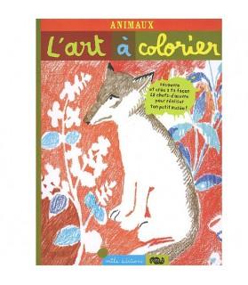 librairie animaux L'Art à colorier - Animaux  6,00€
