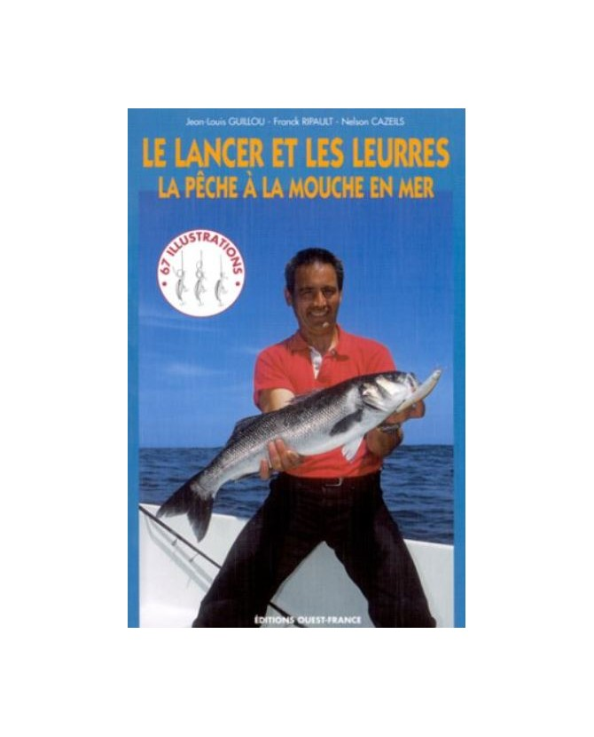 librairie animaux Livre sur la pêche à la mouche - Le lancer et les leurres  7,00€