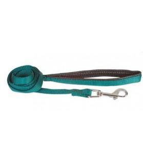 Laisses de promenade chien ou chiot Laisse plate confort verte Doogy 14,00€