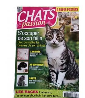 librairie animaux Chat passion - S'occuper de son félin  2,50€