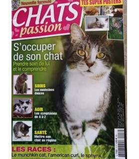 librairie animaux Chat passion - S'occuper de son chat  2,50 €